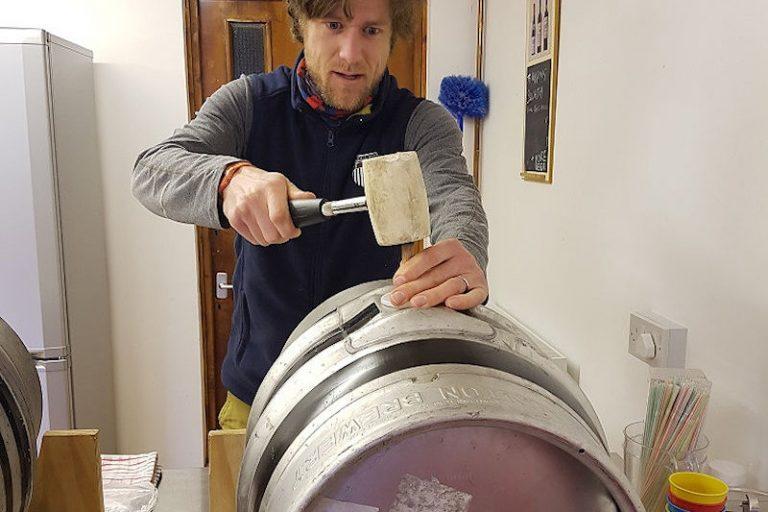 Beer from the Grampus Inn in Lee