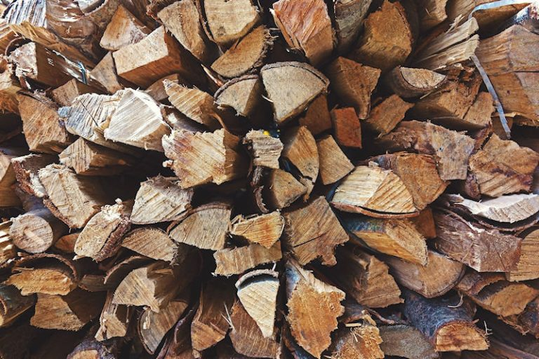 Wood from sustainable sources