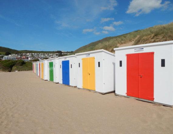 Woolacombe Beach Huts
